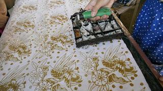 batik cap kampung batik malon
