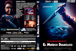 EL MUÑECO DIABOLICO – CHILD'S PLAY – 2019 [COVER – DVD]