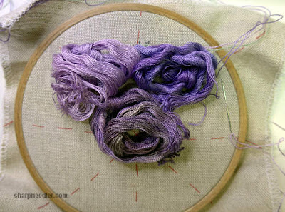 Better selection of purples for Wisteria re-stitch