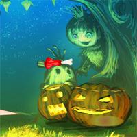 WowEscape Halloween Pumpkin Girl Escape Walkthrough