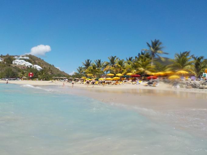 Karibian risteily, St Maarten Philipsburg ja Sint Martin Friar's Bay / autoilu saaren ympäri lasten kanssa