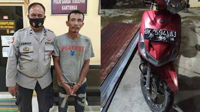 Gegara Curi Seng di PTPN III Rambutan, Yudi Diserahkan ke Polisi