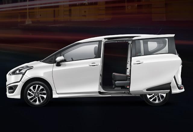 Sliding Door Toyota Sienta