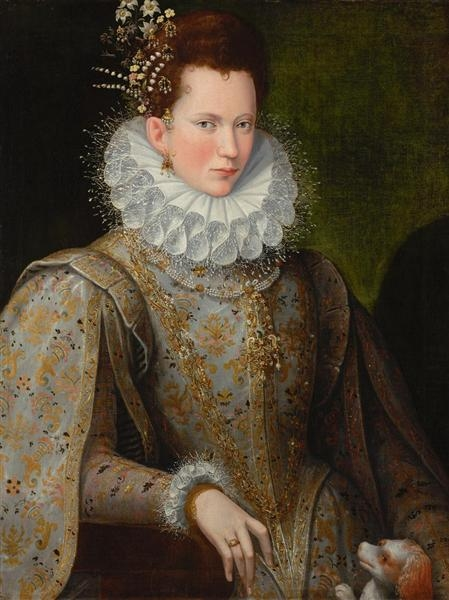 Lavinia Fontana - Portrait of a Lady of the Court