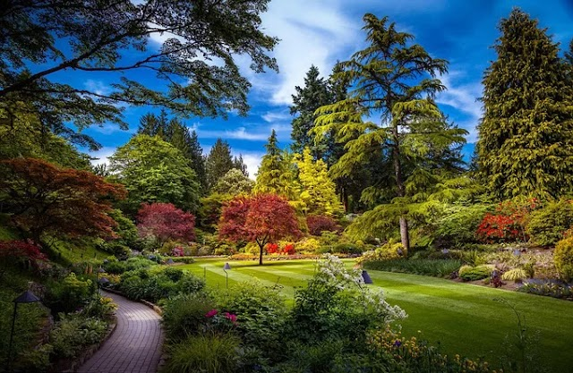 The masterpiece gardens in the world