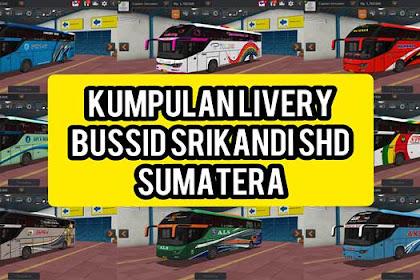Kumpulan Livery Bus Srikandi SHD Sumatera BUSSID Terbaru 2020