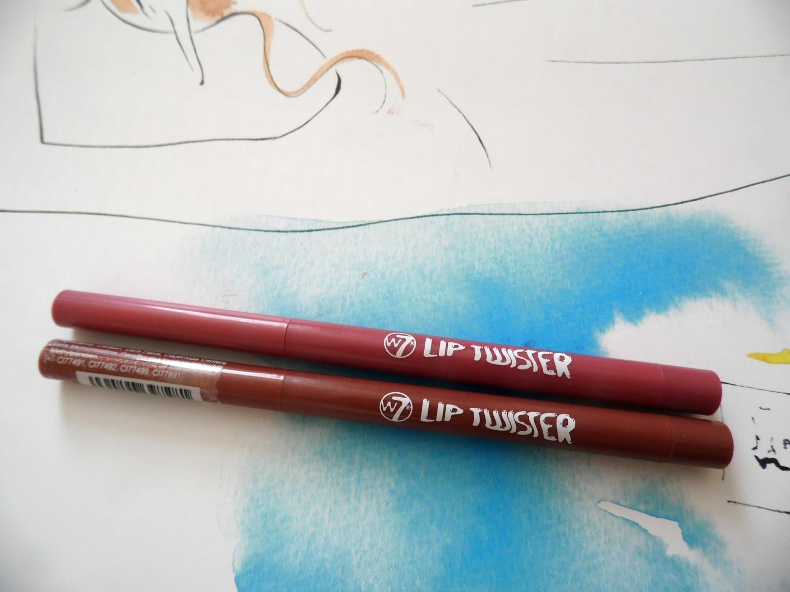 W7 Lip Liners