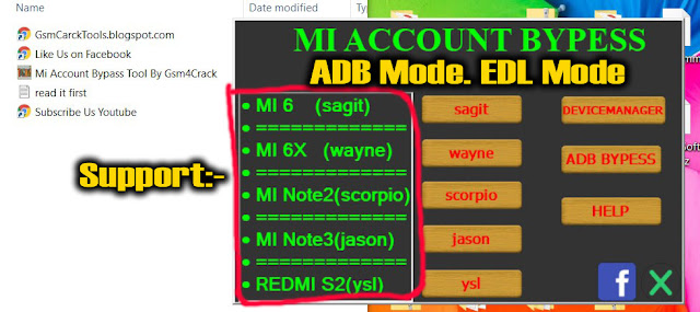 Mi Account Bypass Tool 2019