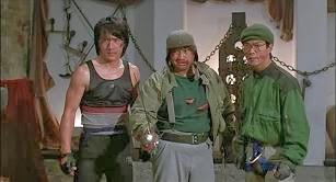 Gördülő kung-fu, Jackie Chan, Sammo Hung, Juen Biao
