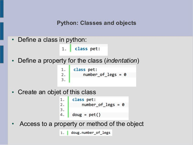 Python Classes - Web Development and Design | Tutorial for