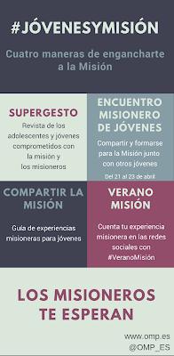 Jóvenes, misión, misioneros