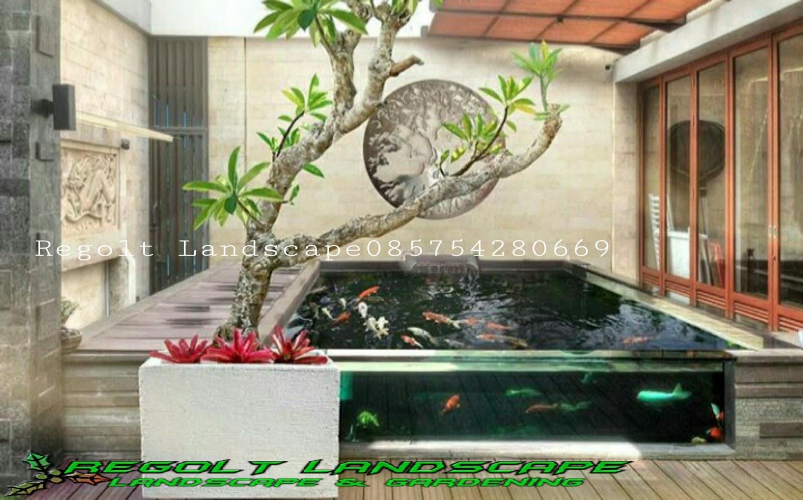 Jasa Pembuatan Kolam Ikan Koi Minimalis Di Gresik