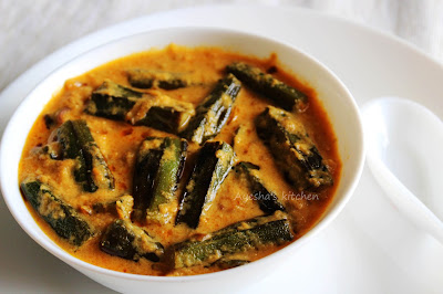 north indian veg recipes with okra or bhindi sauteed bhindi in tomato curd gravy yummy chapathi or rice  side dish