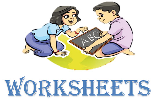 English Language Worksheets for the Classes of 1st - 8th