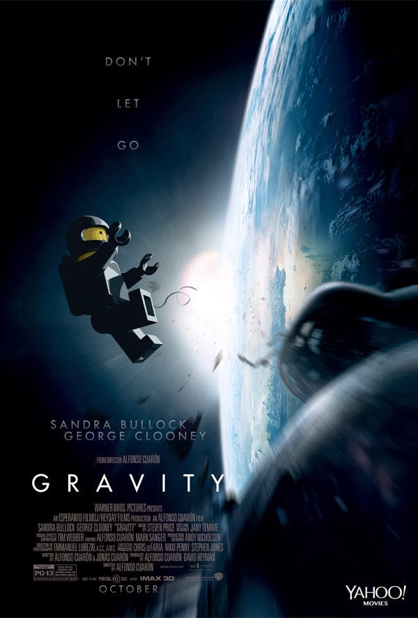 Poster Lego - Gravity