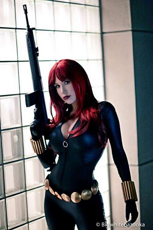 Cosplay de la Black Widow