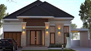 desain denah rumah ukuran 13x15 - desain rumah minimalis