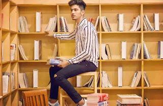 Satvik Sankhyan Reading Books