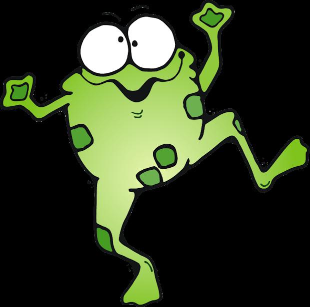 DJ Inkers Frog Clip Art of Teachers