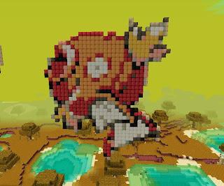 It's a kind of tragic: Minecraft Pokemon Pixel Art