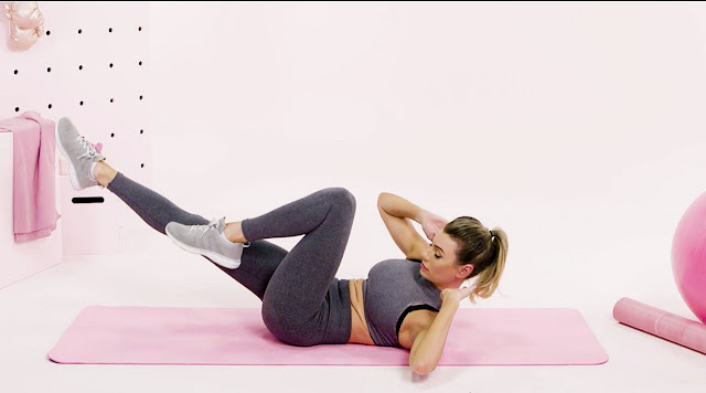 Workout at home for beginners, men and women exercises
