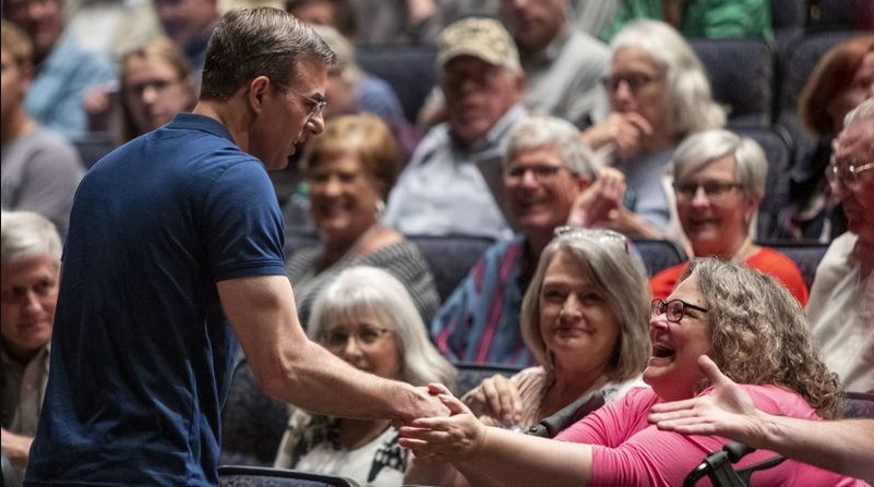 Representative Justin Amash in City Hall: 'My job is to protect the constitution'