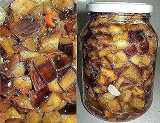 Рецепт баклажанов, по вкусу КАК ГРИБЫ.