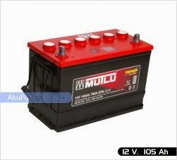 mutlu akü ağır hizmet serisi 12 volt 105 amper