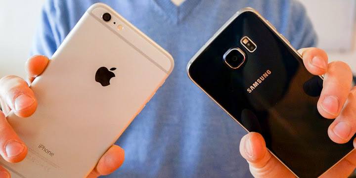 Kamera iPhone 6 Vs Galaxy S6