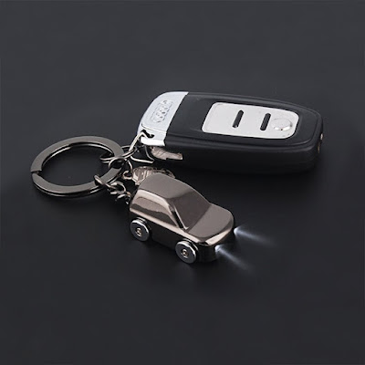 Light Car Keychain