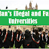 Caution! Pakistan's Illegal and Fake Universities: HEC Issues the List of 150 Institutes