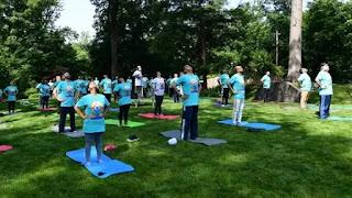 Indian Embassy in America celebrated International Yoga Day 2021