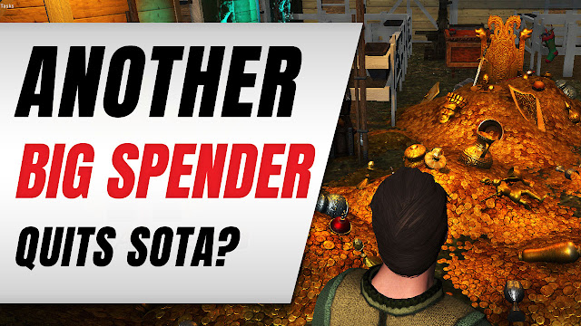 $30K USD Spending Player QUIT Shroud of the Avatar!