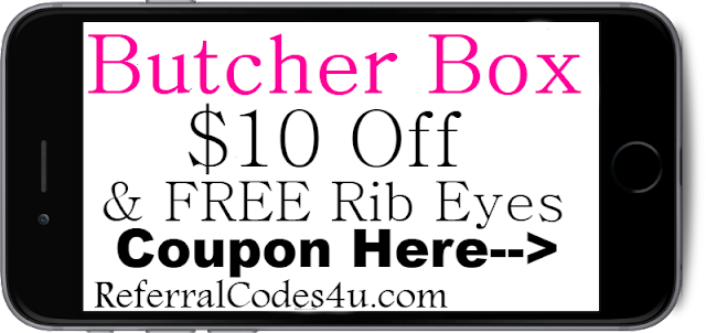 $10 off ButcherBox.com Coupon Promo Code 2021-2022 July, Aug, Sep, Oct, Nov, Dec
