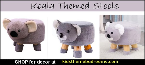 koala footstools koala stools koala chairs koala seating koala furniture koala decor koala bedroom decorating