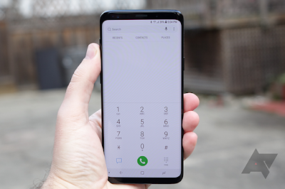 this is samsung galaxy s9 plus dial