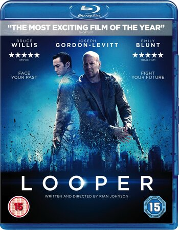 Looper (2012) Dual Audio Hindi 720p BluRay 1GB ESubs Free Download