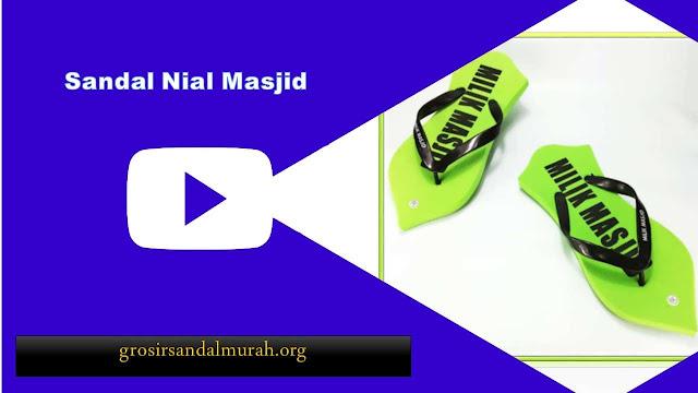 grosirsandalmurah.org - Sandal Pria - Jepit Nial Masjid