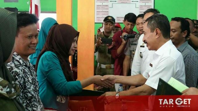 Bupati Haryanto : Jangan Kaitkan PTSL Dengan Pilkades