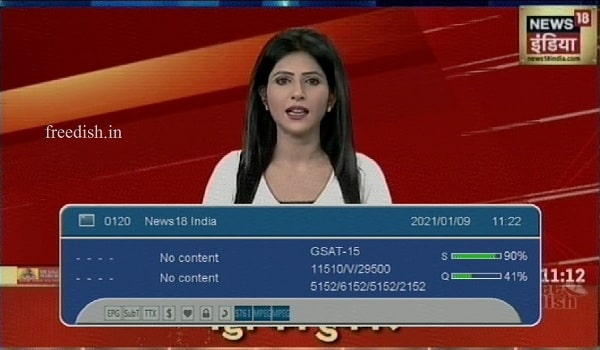 News18 India Hindi News on LCN 056 - Know Frequency and Channel Number