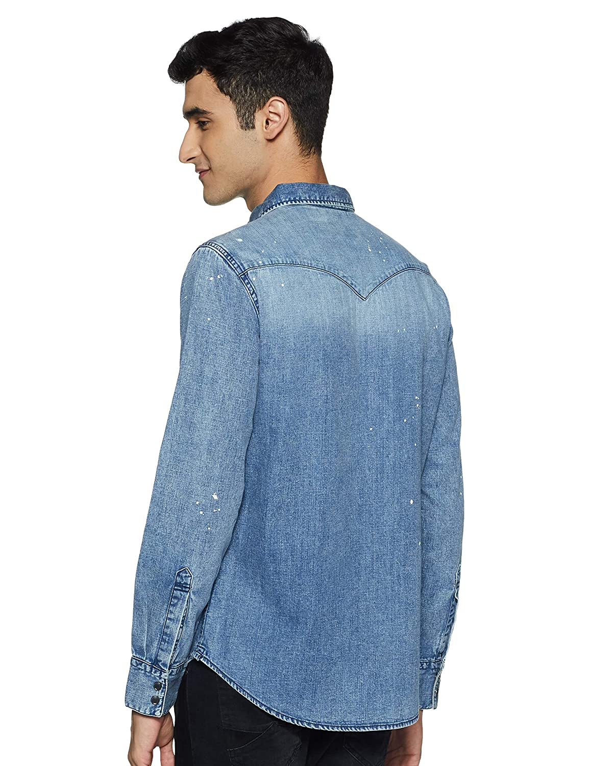 Buy Levi's Denim Clothes Upto 33% Discount For Men's Casual Shirts Online