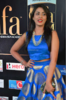 Madhu Shalini Looks Super Cute Slim trim Blue Choli Ghagra IIFA Utsavam Awards 18.JPG