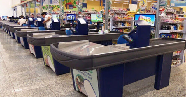 supermercado vagas