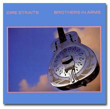"Guitarra Resonadora en la Portada del Disco ""Brothers in Arms"""
