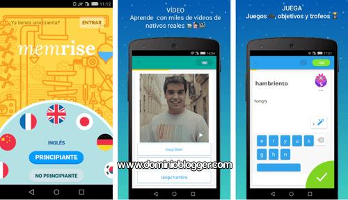Aprende idiomas gratis desde tu telefono con Memrise