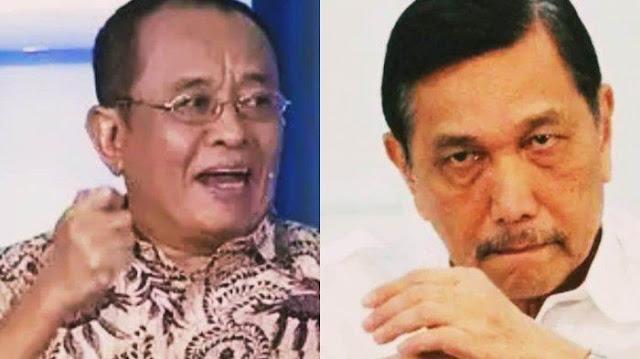 Diancam Dilaporkan ke Polisi oleh Jubir Luhut Pandjaitan, Said Didu Santai, Pilih Mandiin Sapi