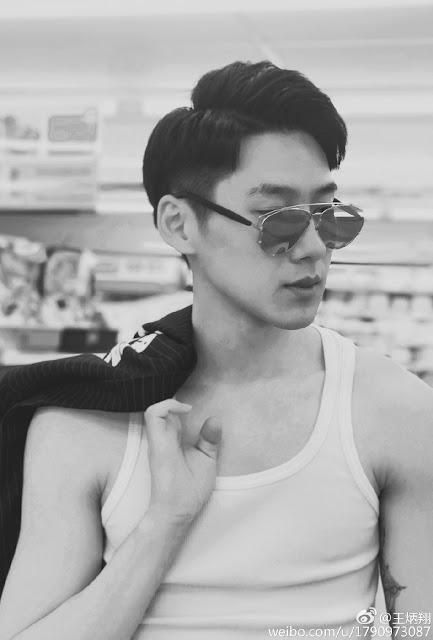 Wang Bingxiang (王炳翔): Chinese handsome hotboy Weibo