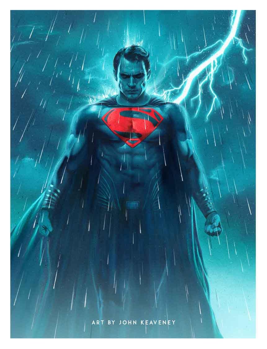 The Geeky Nerfherder: #CoolArt: \'Batman\' & \'Superman\' by John Keaveney