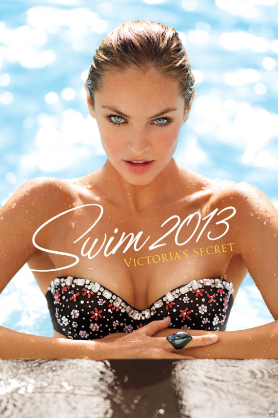 Victoria's Secret Swim Cover Model of 2013 - Candice ...