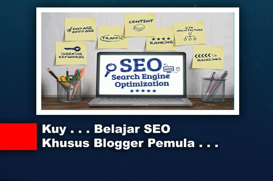 Belajar SEO Untuk Blogger Pemula